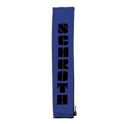 Schouder pads 2 inch BLAUW/ZWART