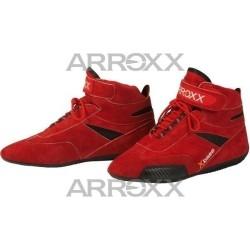 Xbase suède schoenen ROOD