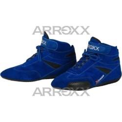 Xbase suède schoenen BLAUW