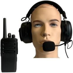 Vectras Engineering Pit met HQ headset