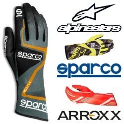 Diverse handschoenen geschikt voor sim-racing