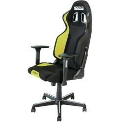 Sparco Grip bureaustoel ZWART/GEEL