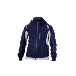 Sparco Top-Tech softshell DONKERBLAUW