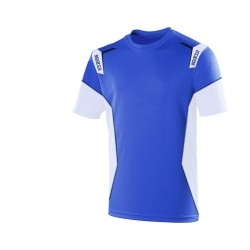Sparco Skid Collection T-shirt BLAUW/WIT