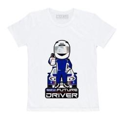 Sparco Future Driver T-shirt voor kinderen WIT