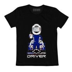 Sparco Future Driver T-shirt voor kinderen ZWART
