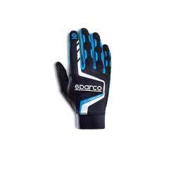 Sparco Hypergrip+ sim handschoenen ZWART/BLAUW