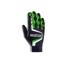 Sparco Hypergrip+ sim handschoenen ZWART/GROEN